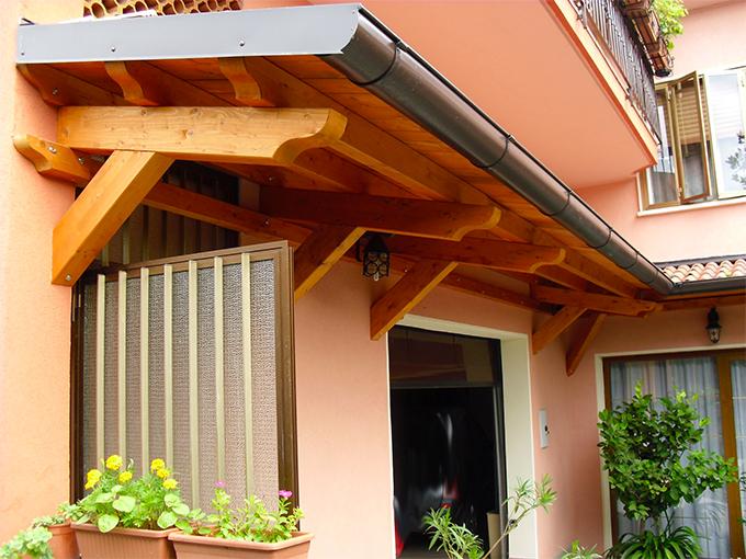Tettoie e coperture in legno catania palermo - Coperture per tettoie esterne ...