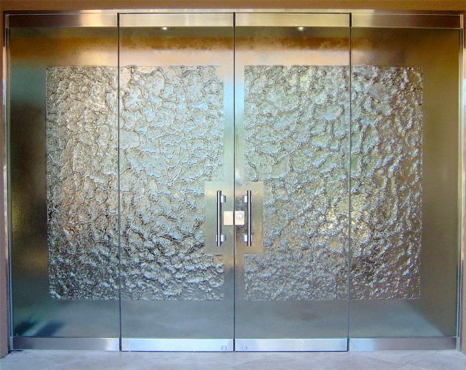 porte in vetro da interno e esterno catania | palermo ... - Design Della Porta In Legno Moderno Con Vetro