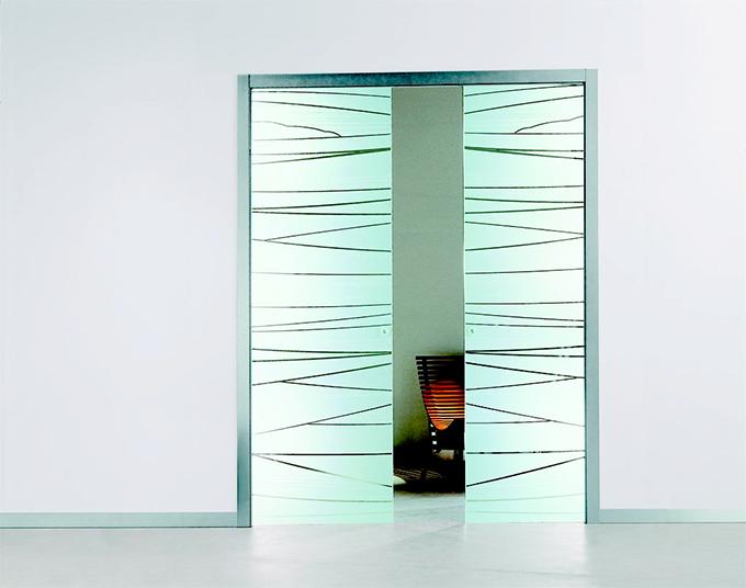 Porte in vetro da interno e esterno catania palermo caltanissetta enna - Montare porta scorrevole ...