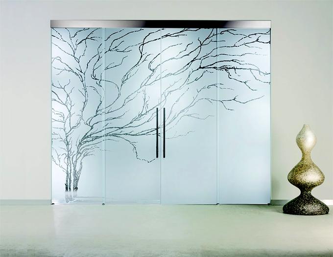 Porte in vetro da interno e esterno catania palermo - Porte in vetro design ...